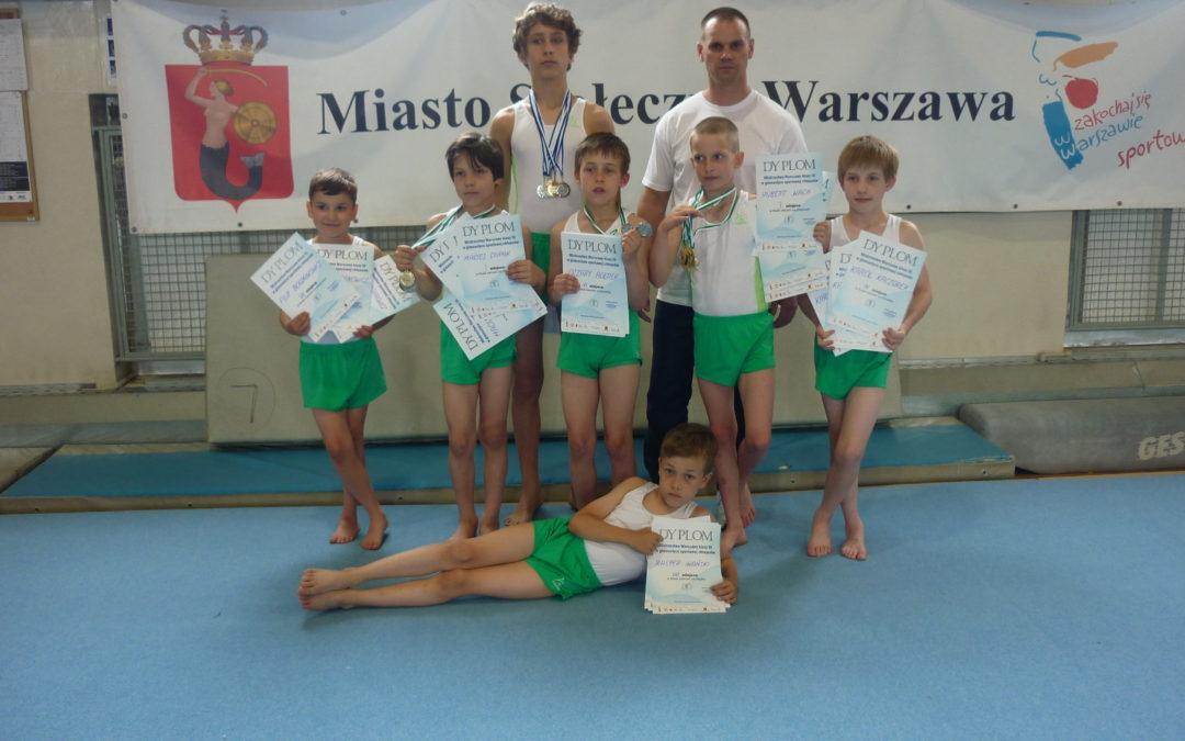 Mistrzostwa Warszawy w klasie III i II