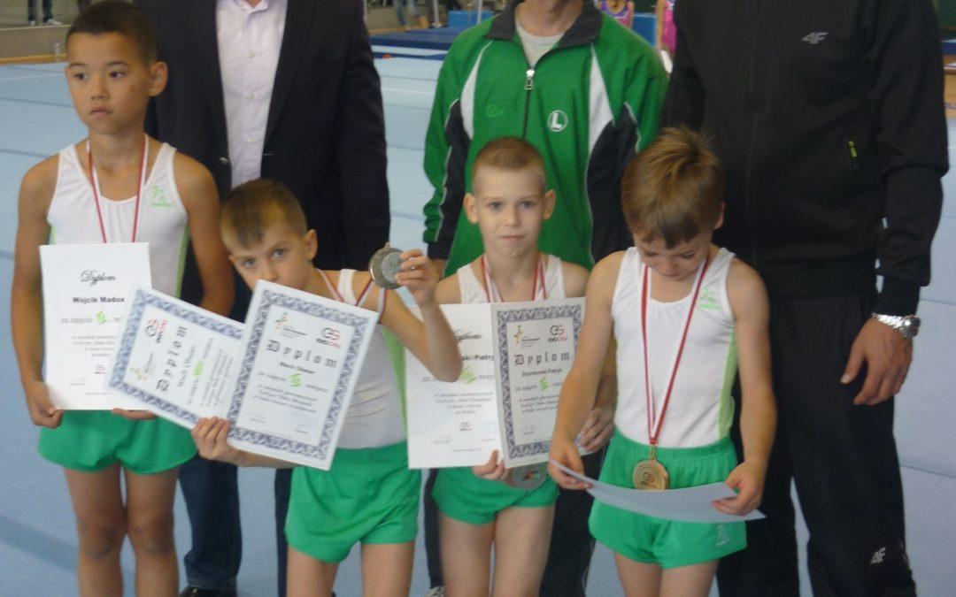 Sukces gimnastyków Legii na Mistrzostwach Polski – 6 medali!