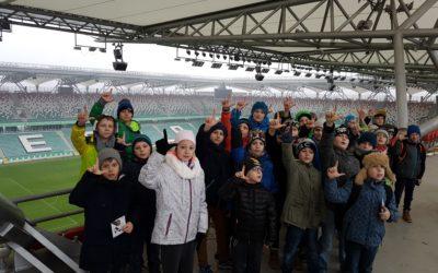 Zwiedzanie stadionu Legii Warszawa – 25.11.2016 r.