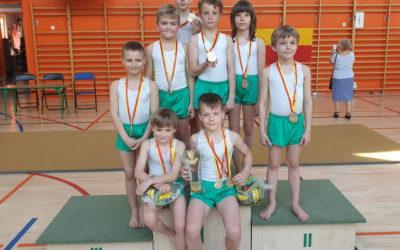 Zwycięstwo legionistów z SP nr 48 w Mistrzostwach Dzielnicy Śródmieście oraz LII Warszawskiej Olimpiadzie Młodzieży