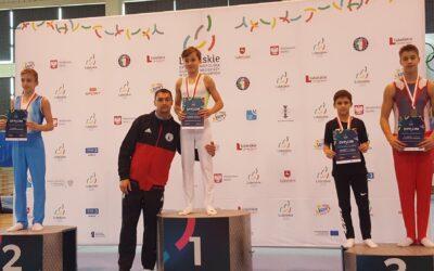 Medalowy start gimnastyków klasy II w finałach Ogólnopolskiej Olimpiady Młodzieży 2020