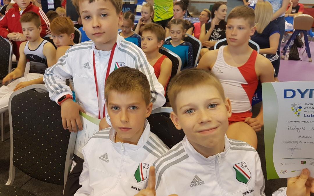 Udany start gimnastyków w finałach Olimpiady